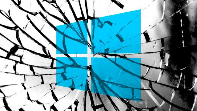 Windows-falla