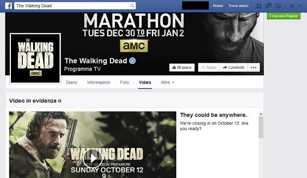Facebook-Pagina-The-Walking-Dead