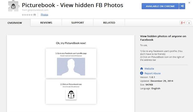 Facebook-Picturebook-Chrome