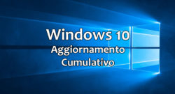 Windows 10: Nuovo aggiornamento per le Build 1809, 1803,1709, 1703 e 1607