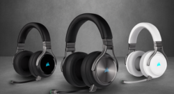 CORSAIR presenta le nuove cuffie gaming con microfono VIRTUOSO RGB Wireless
