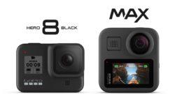 GoPro HERO8 e GoPro MAX annunciate ufficialmente