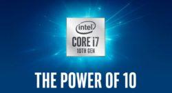 Intel Core i9-10900 annunciato con 10 core e 20 thread fino a 5,1 GHz