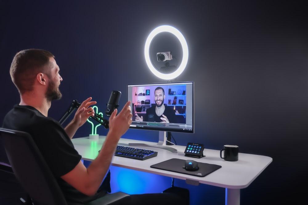 Regola la luminosità come vuoi con Elgato Ring Light