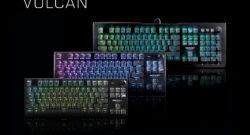 Le tastiere Vulcan Pro e TKL Pro, oltre al mouse Burst Pro saranno disponibili da domani