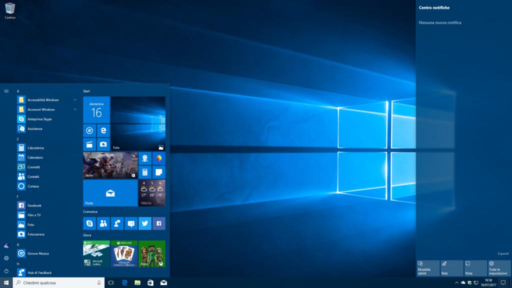registrare schermo windows 10