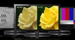 Come impostare i colori della TV