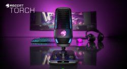 Roccat annuncia il Microfono da Gaming TORCH