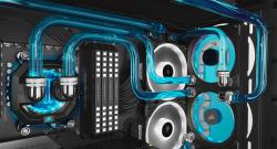 CORSAIR presenta la piastra di distribuzione con pompa integrata Hydro X Series XD7 RGB
